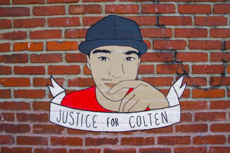 I want to talk about Colten Boushie.