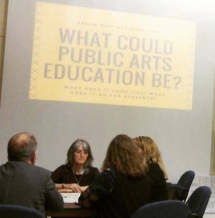 What can the future of Arts Education look like?